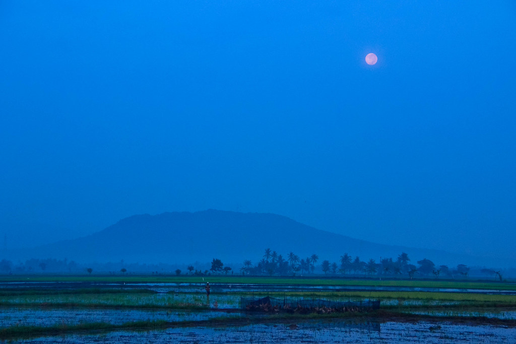 Full Moon on Sumatra